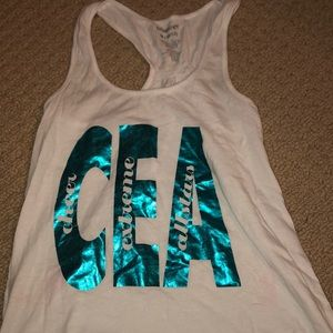 Cheer extreme tank top